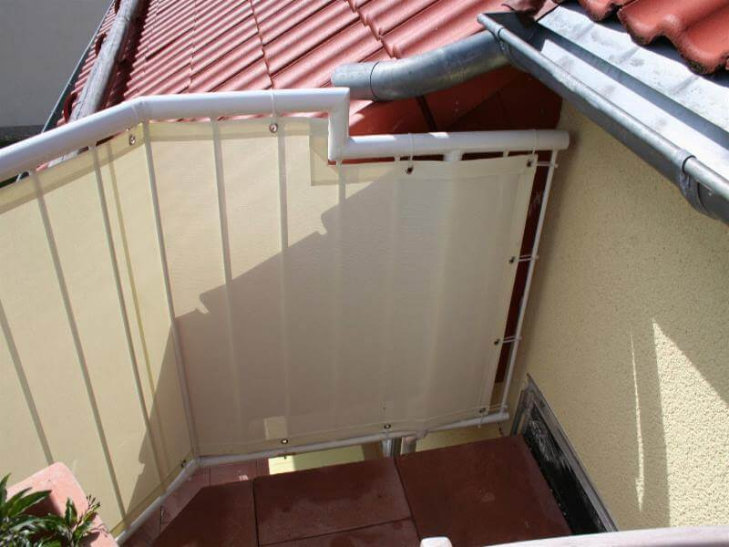 Balkonbespannung