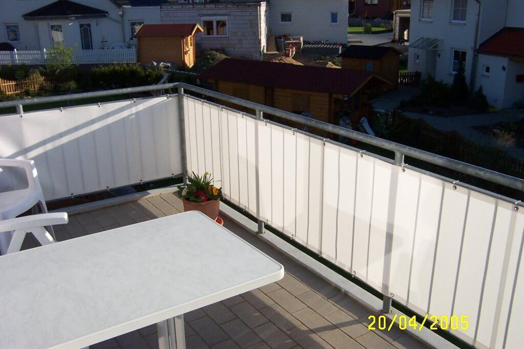 Balkonsichtschutz